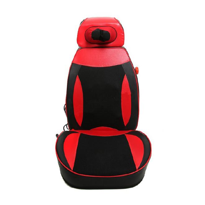 正品脊椎按摩器颈肩腰背部按摩垫多功能按摩枕电动按摩椅靠垫坐垫