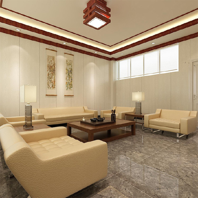 3d欧式白色护墙板环保集成墙面全屋整装竹木纤维集成墙板墙饰墙裙