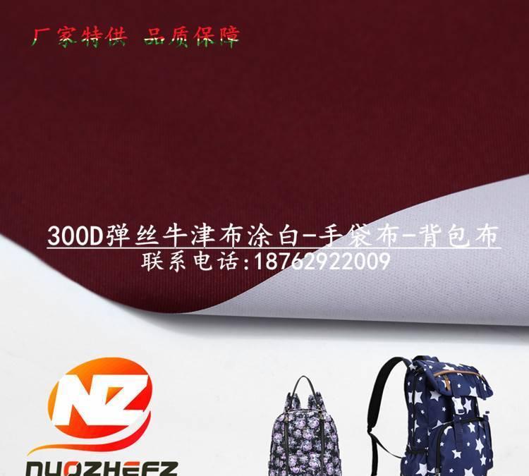 彈絲牛津布300Dx300D 105T PU平紋箱包布 防水帳篷布 工裝布圖片
