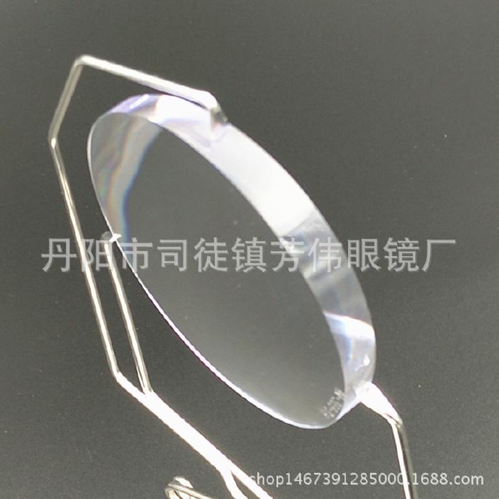 批发三棱镜定制多棱镜 青少年近视树脂镜片图片