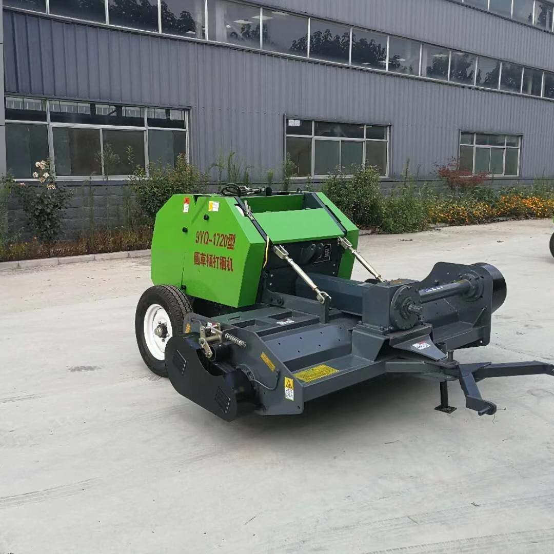 安徽 玉米秸稈粉碎撿拾打捆機 收割粉碎回收打捆一體機 小型秸稈打捆機