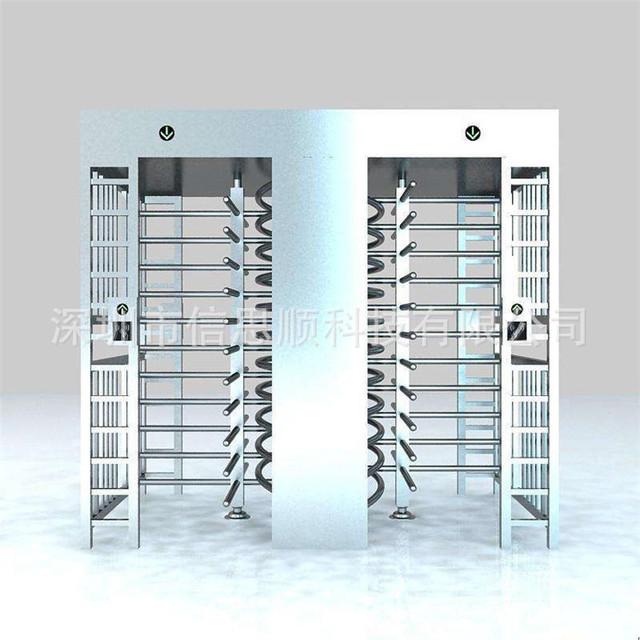 湖北全高旋轉閘廠家直銷XSS-D120工地通道轉閘 人臉識別系統閘機