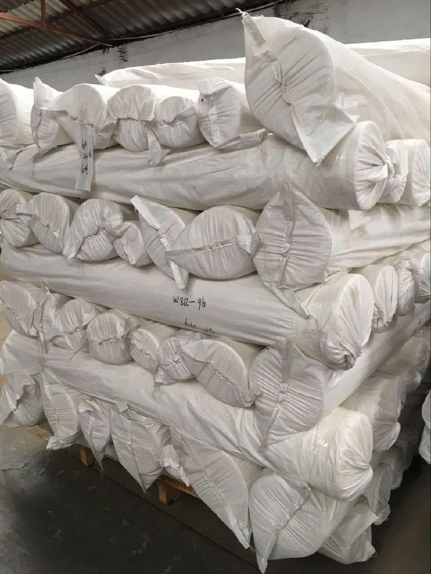 涤棉西装衬衣布65/35 133x72 2/1斜纹染色布工装面料包漂白包染色图片