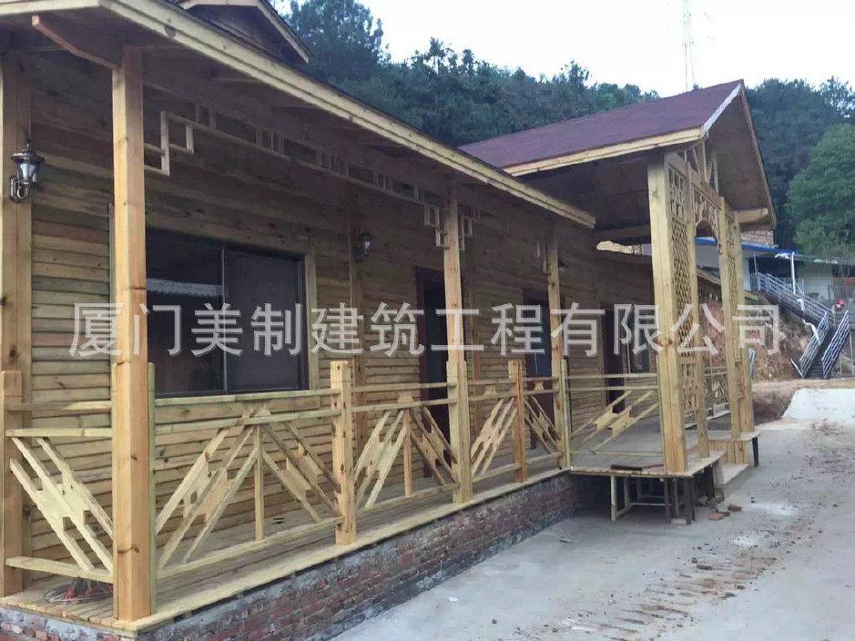 长期经销欧式海边木结构木屋日式别墅园林园泊湾澜别墅图片