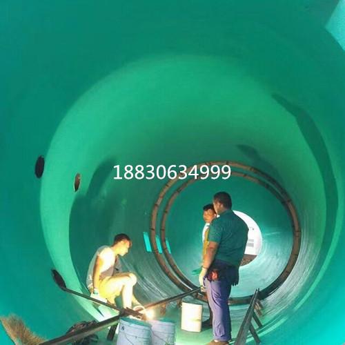 管道玻璃鱗片防腐膠泥  玻璃鱗片防腐涂料  操作過程