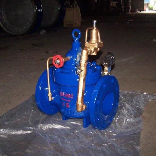 可调式减压稳压阀 水利控制阀 先导式减压阀 水力阀图片