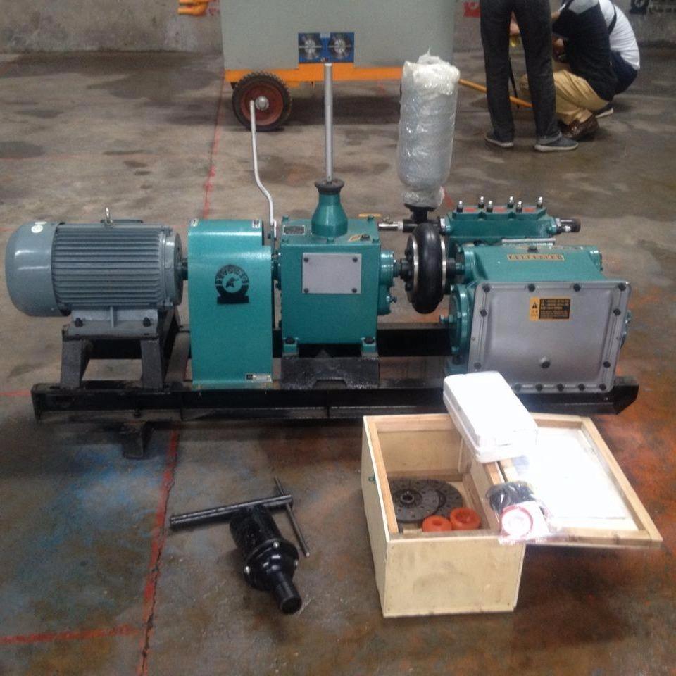 安徽臥式三缸護注漿泵BW150  節省能源、結構緊湊、體重輕、效率高、經久耐用、操作安全