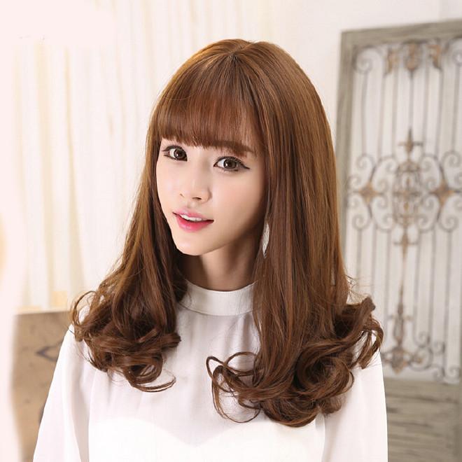 妈妈女发型头短发内扣中长梨花蓬松韩国时尚整假发短发图发型女士图片