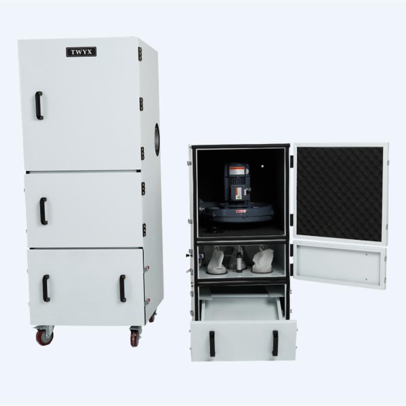 工业磨床吸尘器 1.5KW磨床粉尘集尘机 高效率磨床集尘器厂家示例图6