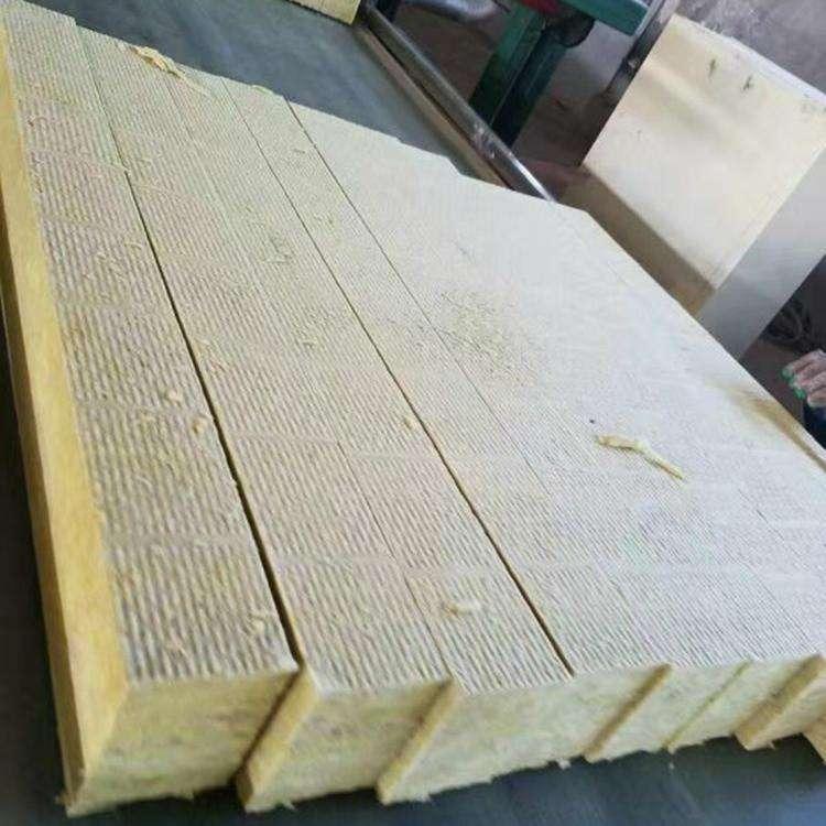 外墙保温岩棉板 吸音复合岩棉板 铝箔贴面岩棉板 岩棉板祥硕和建材