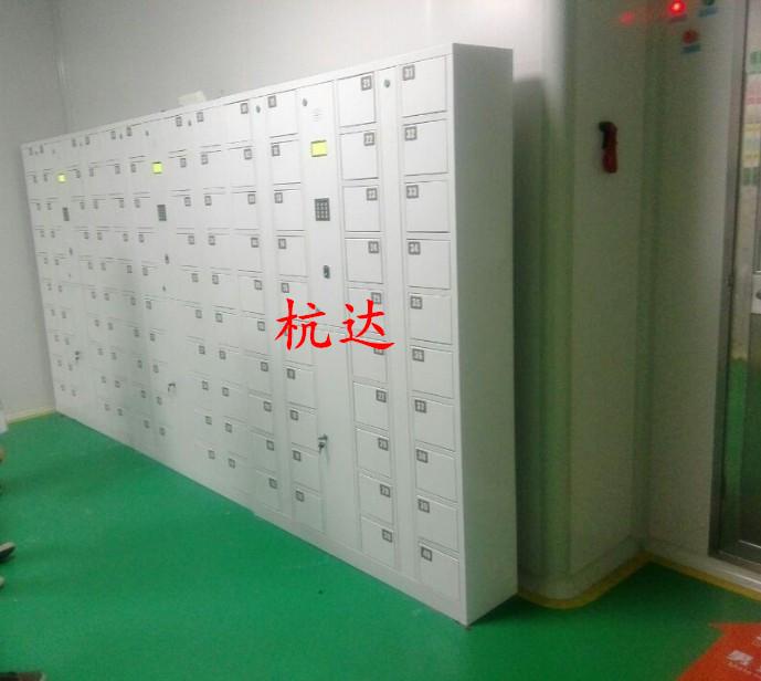 厂家供应智能12门-48门指纹存包柜遥控器开门,自己设置一人一门示例图6