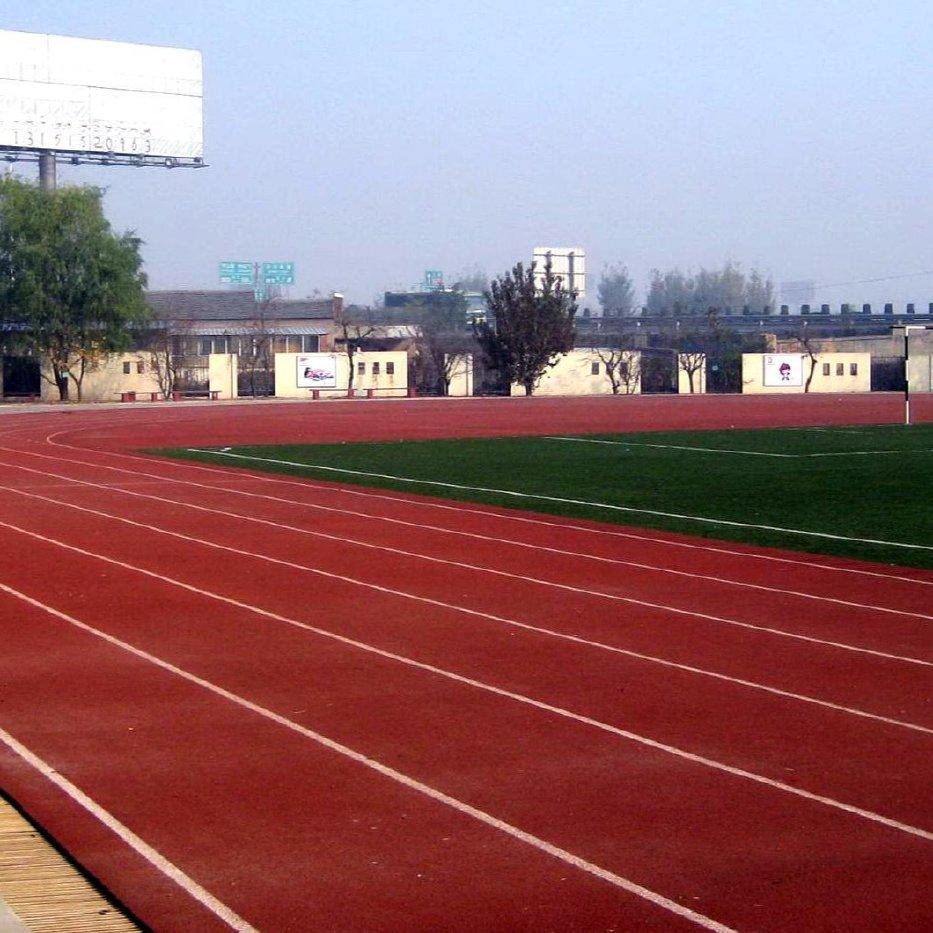 河南灏洋体育设施有限公司 塑胶跑道篮球场 运