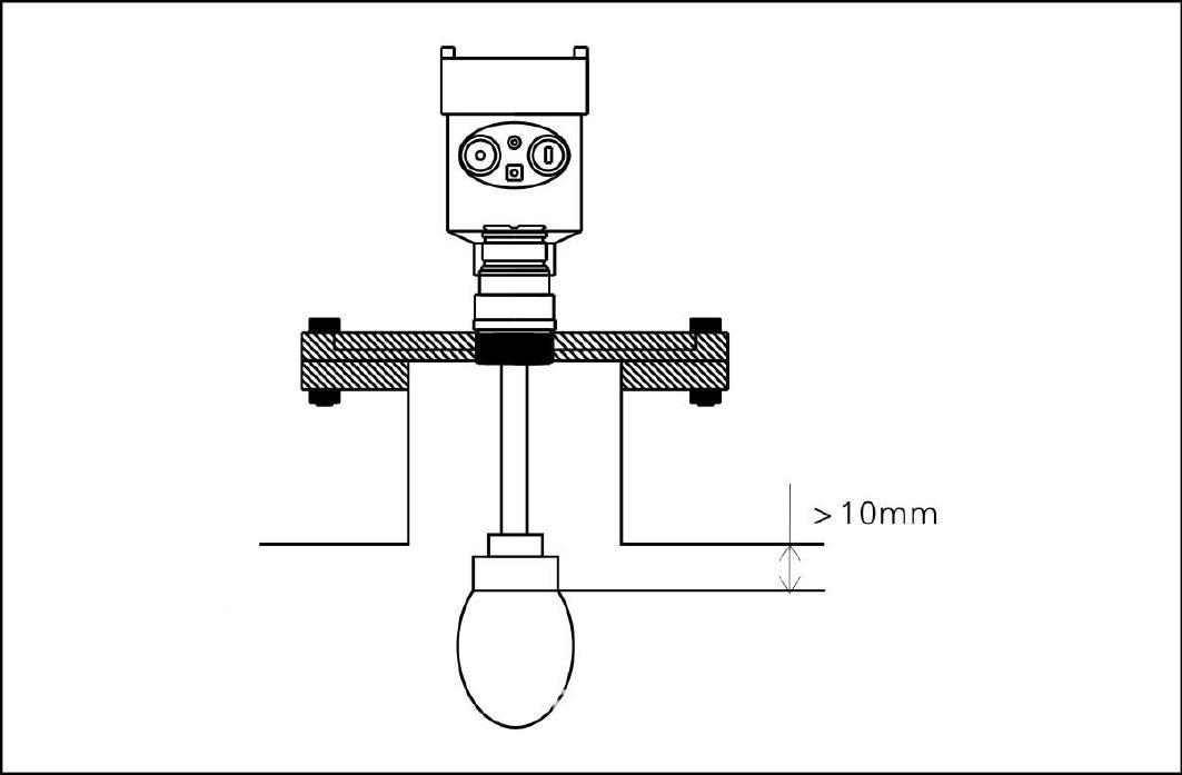 湖南水滴型雷达物位计 高频雷达物位计 耐腐蚀四氟雷达液位计示例图3