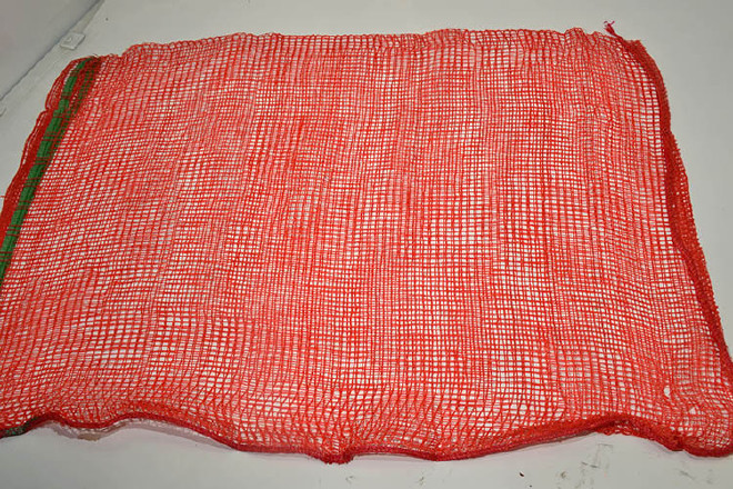 �t薯袋子批�l�t色看著�W眼袋 四方眼55*85橘子包�b〓六十斤�b水果蔬菜袋示例�D18