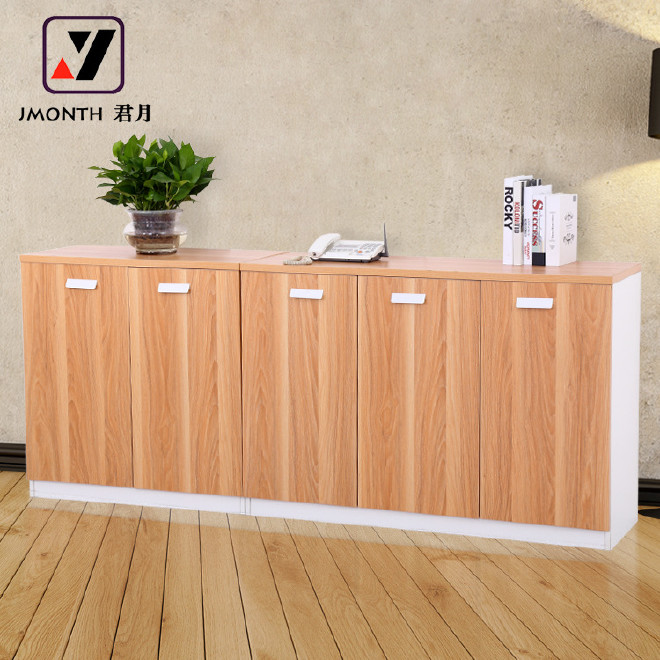广州办公家具档案柜书柜矮柜办公柜子资料柜木质办公文件柜职员