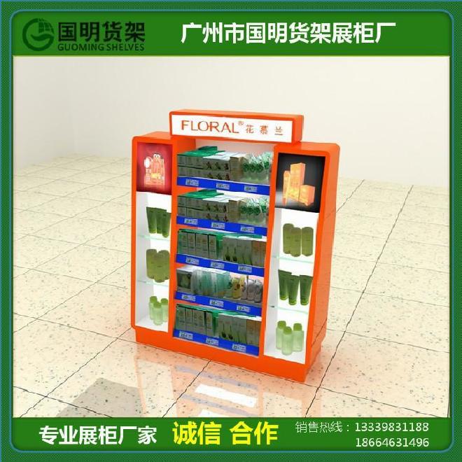 GM-D30商场图案品牌化妆品展示柜商场专柜最新中国风专柜包装设计图片
