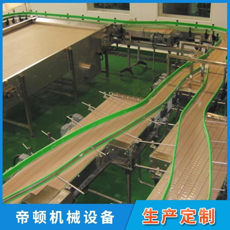 供应非标定制重型碳钢板链输送机 直线板链输送线 结构紧凑 好用