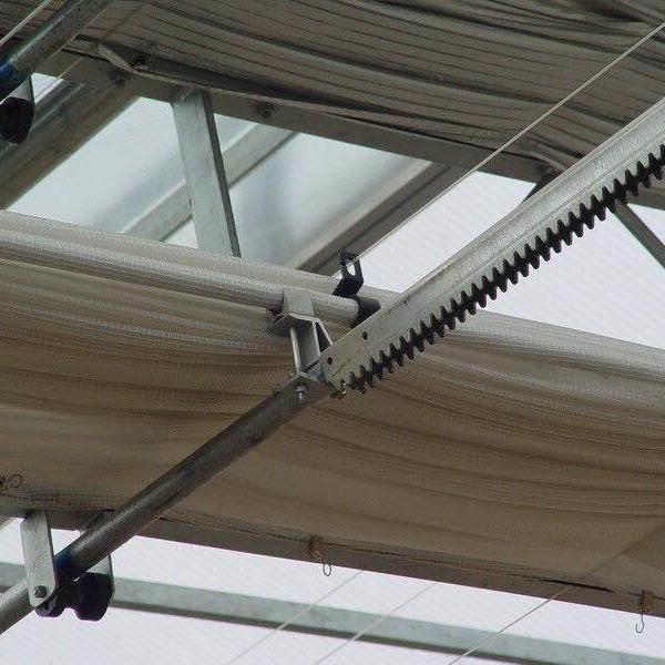 温室大棚遮阳网黑色圆丝防晒网加密加厚抗老化遮阳网