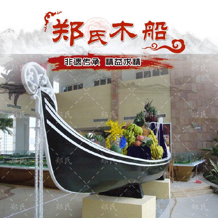 厂家直销贡多拉装饰道具船  欧式景观装饰木船  欧式贡多拉装饰船