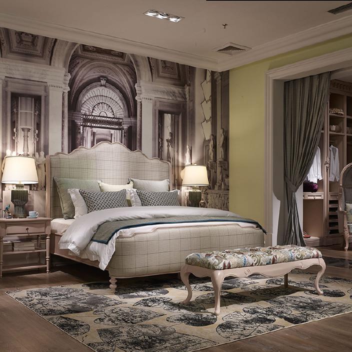 欧式家具风格卧室可来图设计高端家装全实木简山西盈美有限公司招聘家具图片