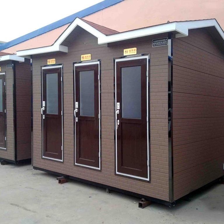上海廠家直銷 歐式豪華 移動廁所 戶外成品廁所 金屬雕花板 移動衛生間 防腐 生態環保廁所 送貨上門