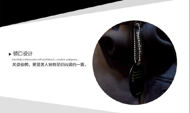 男式�l衣ζ潮牌太空棉�l衣定制�B帽�n版修身�_衫日系男眼中充�M了�@�盅b棒球服外套示例�D7