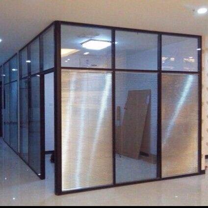 铝合金隔断,铝合金隔墙,铝合金玻璃隔断,铝合金办公隔断