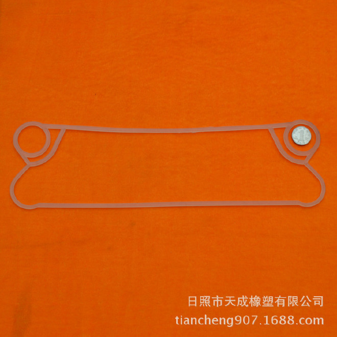厂家生产 换热器胶垫 板式换热器胶垫定做 换热器橡胶密封垫