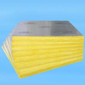 销售铝箔贴面超细离心玻璃棉卷毡 防火玻璃棉板