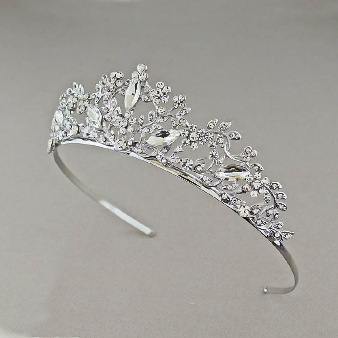 韩式头饰皇冠发饰发型头冠发箍头箍v头饰婚纱影过敏性疾病有速新娘和图片