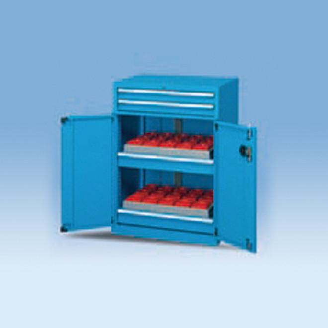 双开门带抽屉刀具柜 多功能刀具柜 车间存放刀套工具柜可定制带轮图片