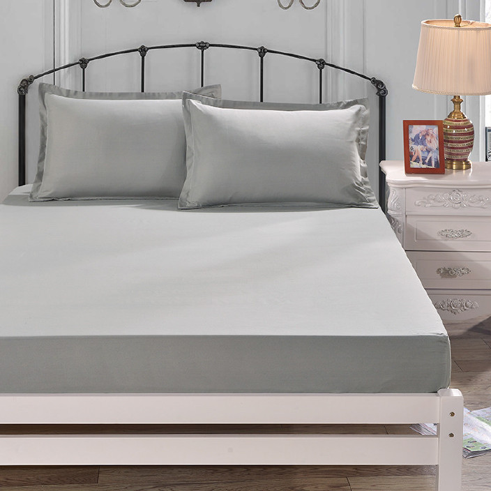 一件代发 升级单件纯色床笠1.8米床罩床垫防滑套席梦思保护套0