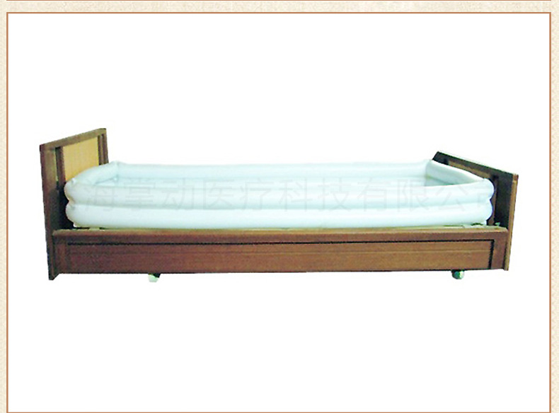 供應臥床洗浴槽 充氣式床上洗澡盆癱瘓老人清潔(床僅供展示)示例圖13