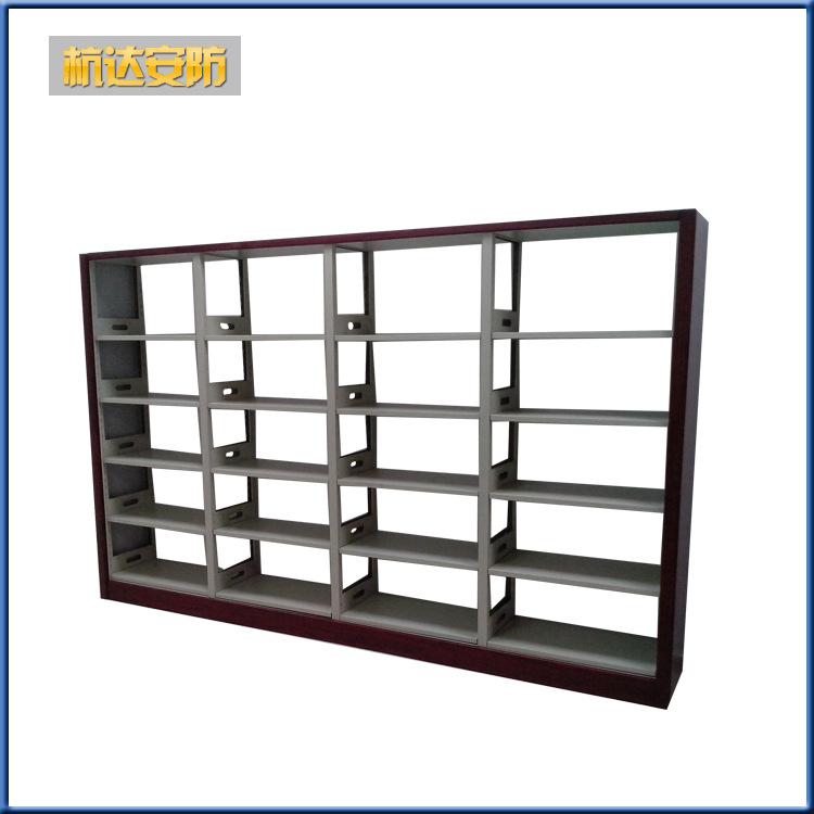 厂家定做 图书馆钢制书柜 大型多层书柜系列