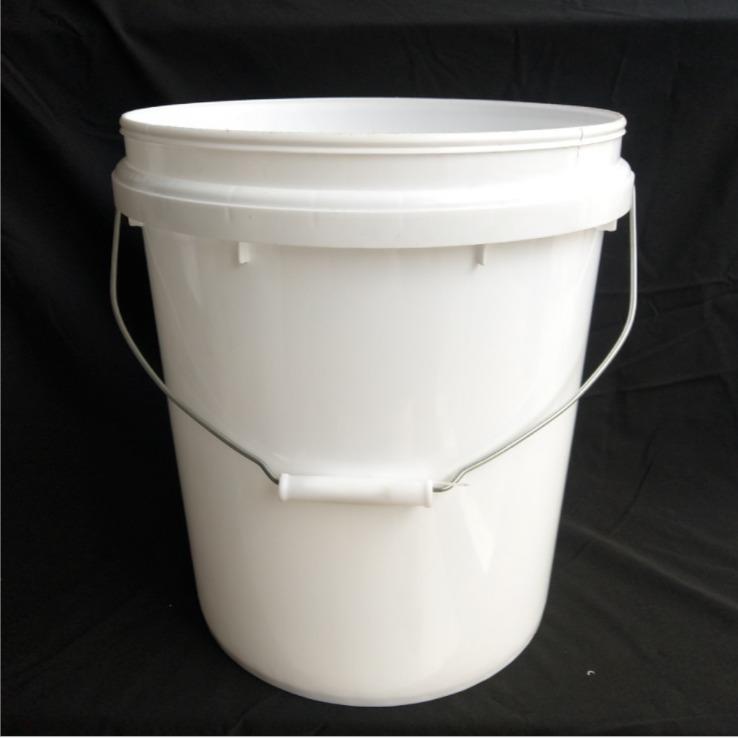 厂家直销20升压盖密封塑料桶 涂料乳胶漆化工包装桶