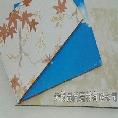 竹木纤维集成墙板 护墙板 PVC墙板 集成墙面 厂家直销