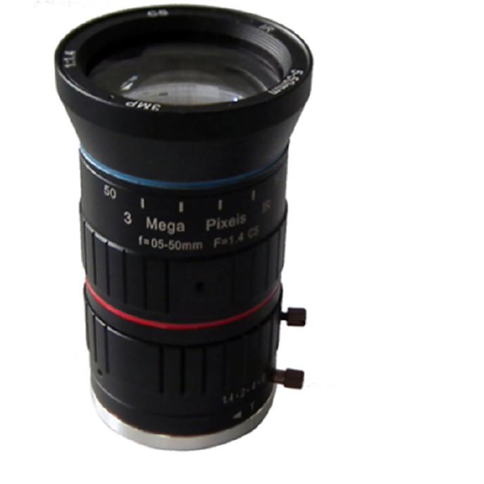 海康大华摄像机专用镜头 手动变焦高清5-50MM  枪机镜头 夜视镜头