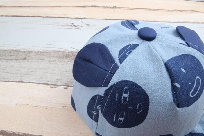 儿童表情猫做头棉麻软沿帽搞笑耳朵婴幼儿潮男生可爱像一点的宝宝图片图片