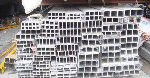 铝方管 无缝方管 铝方管木纹转印 粉末喷涂 加工各种颜色铝方管厂 无缝铝管