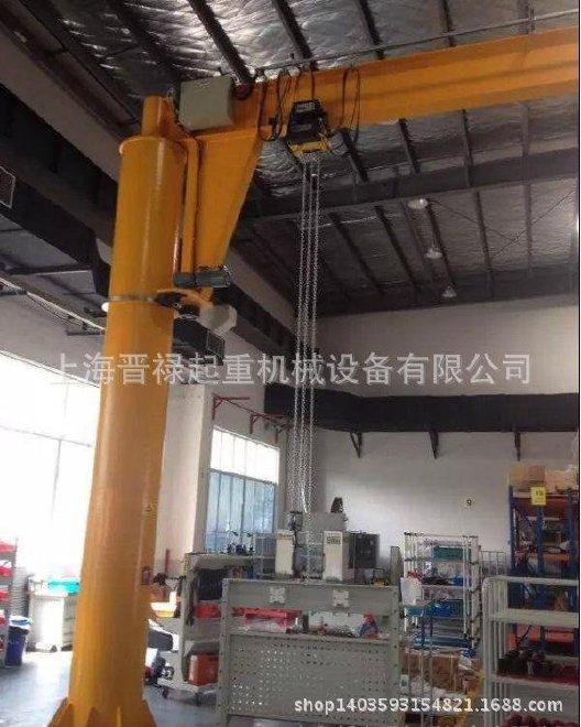 bzd型旋臂起重机具有结构简单,操作方便,占用空间小,作业范围大等