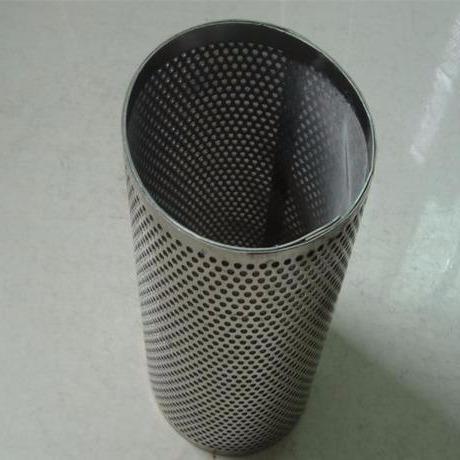 恒本定做304不銹鋼帶提手法蘭封底過濾網筒 筒式雙層焊接過濾網圖片
