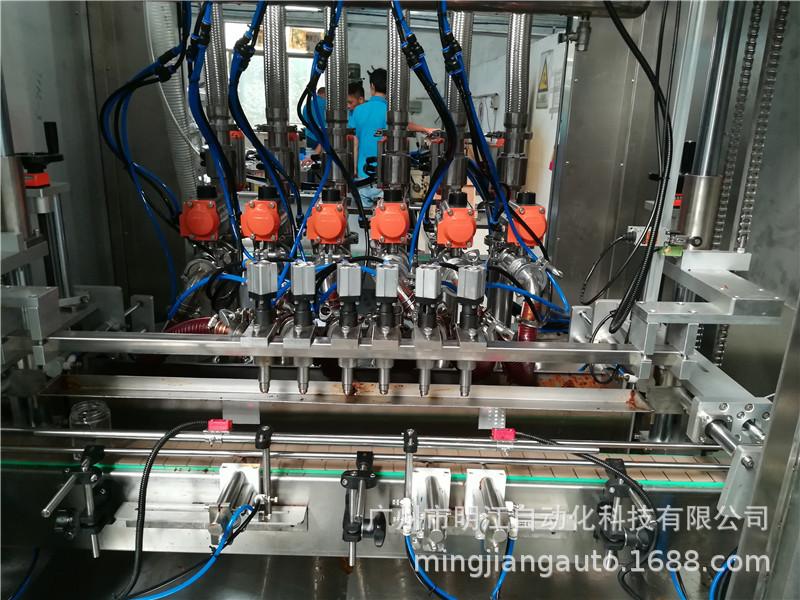 試管自動灌裝機 下管灌裝旋蓋貼標簽流水線 自動試管灌裝一體機示例圖11