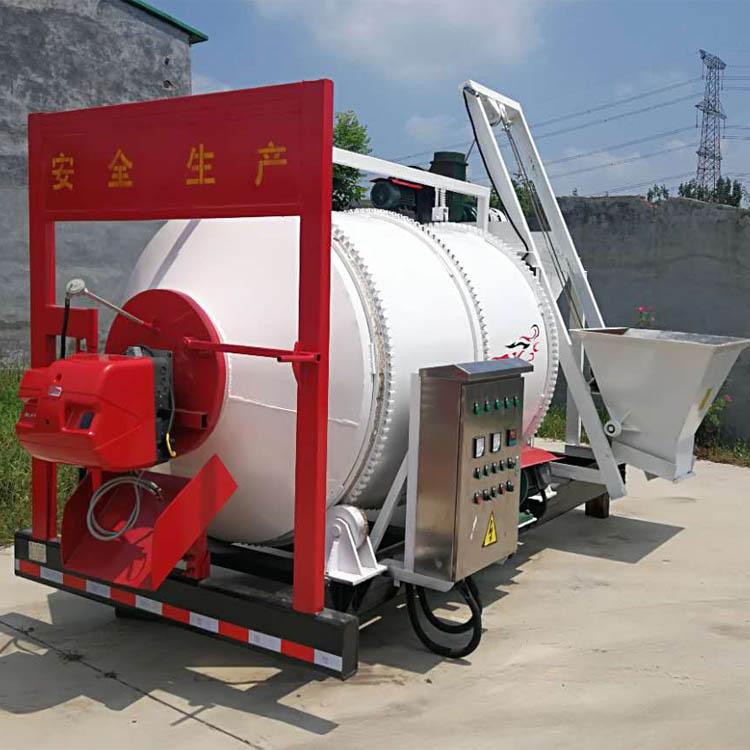 路面养护拌和机  沥青路面修补炒料机 小型沥青搅拌站 东北沥青再生料拌和机