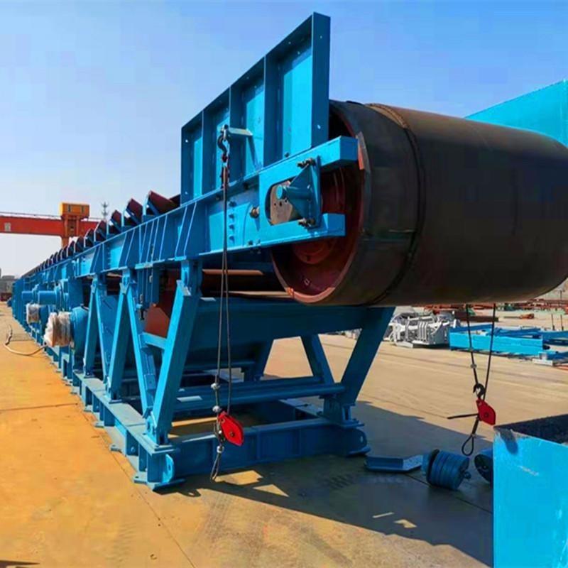 专业定制大型固定式皮带输送机 大倾角输送机 污泥沙土传动机 上料输送机 煤炭运输皮带机