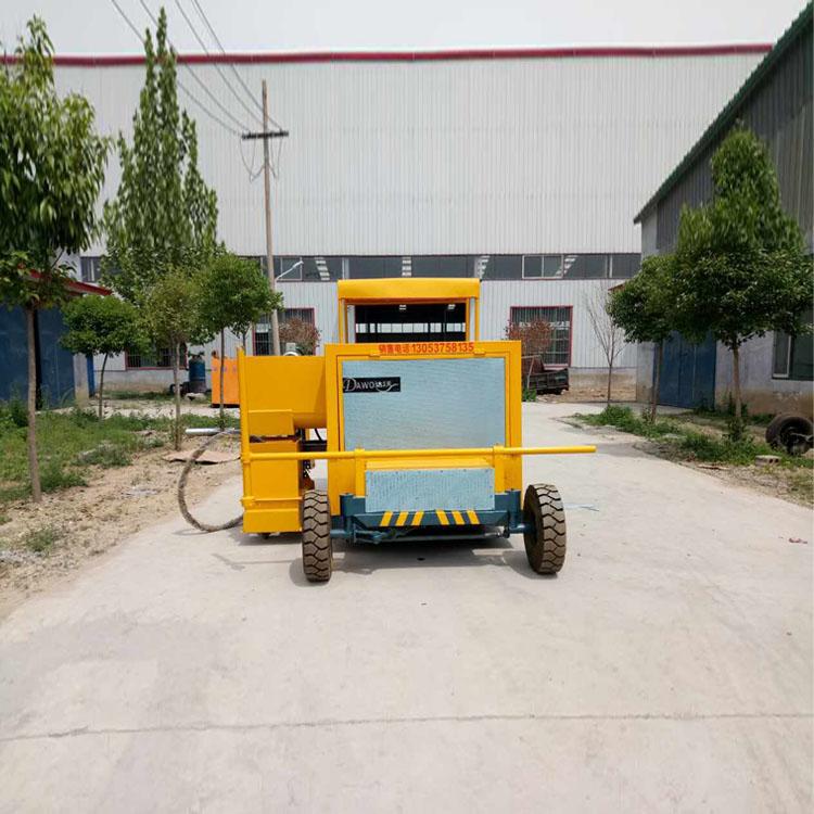 济宁达沃路缘石滑模成型机厂家 混凝土拦水带成型机   沥青砂拦水带