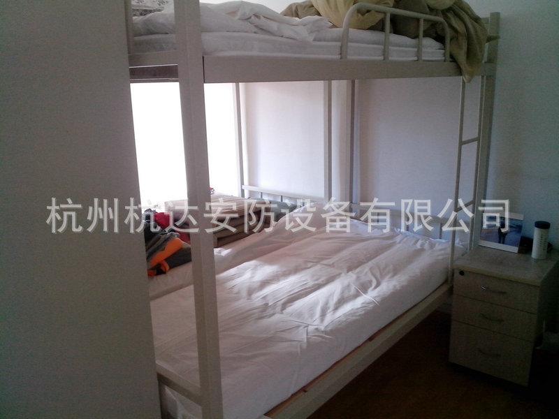 厂家定做 铁架床双层床 高低员工双层床 管用50年质保6年示例图73
