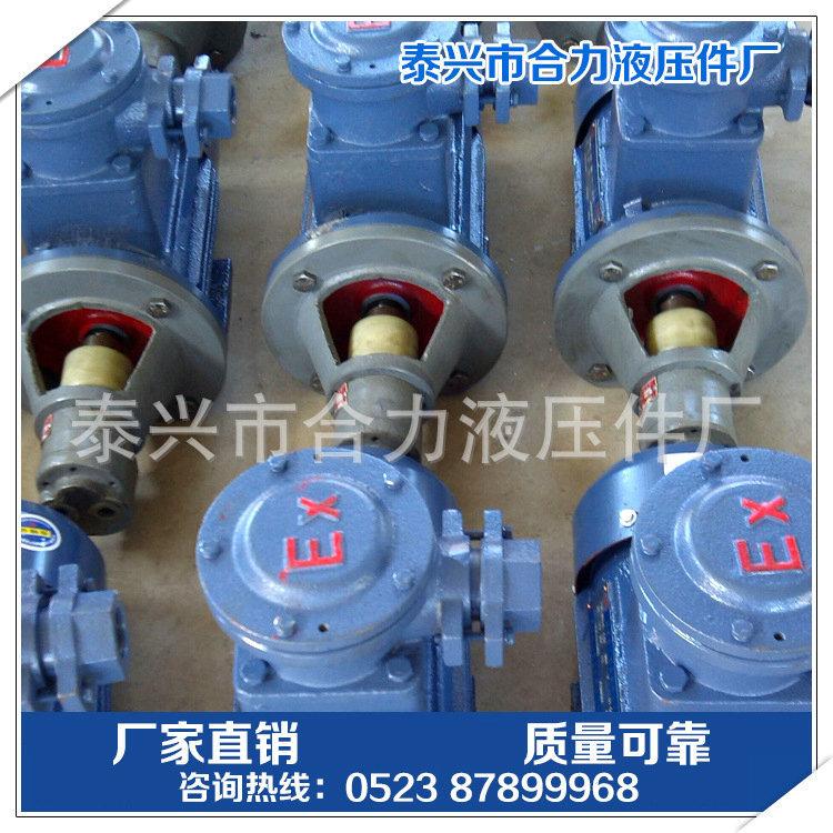 长期供应 LWBZ-10齿轮泵装置 卧式油泵电机组 价格合理示例图3