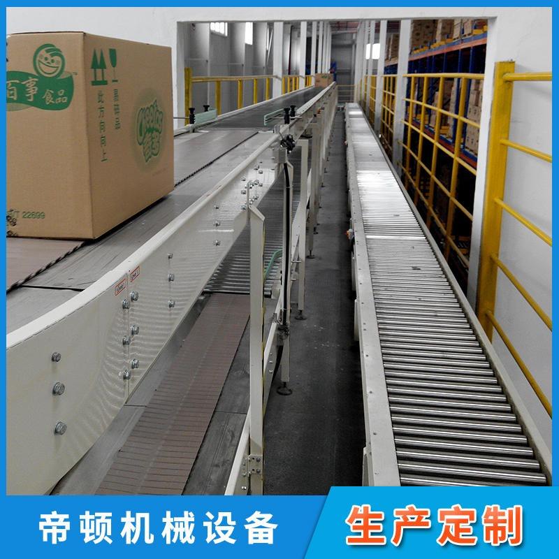 非标设计包胶滚筒输送机 滚筒皮带输送机 转向输送机 好维护