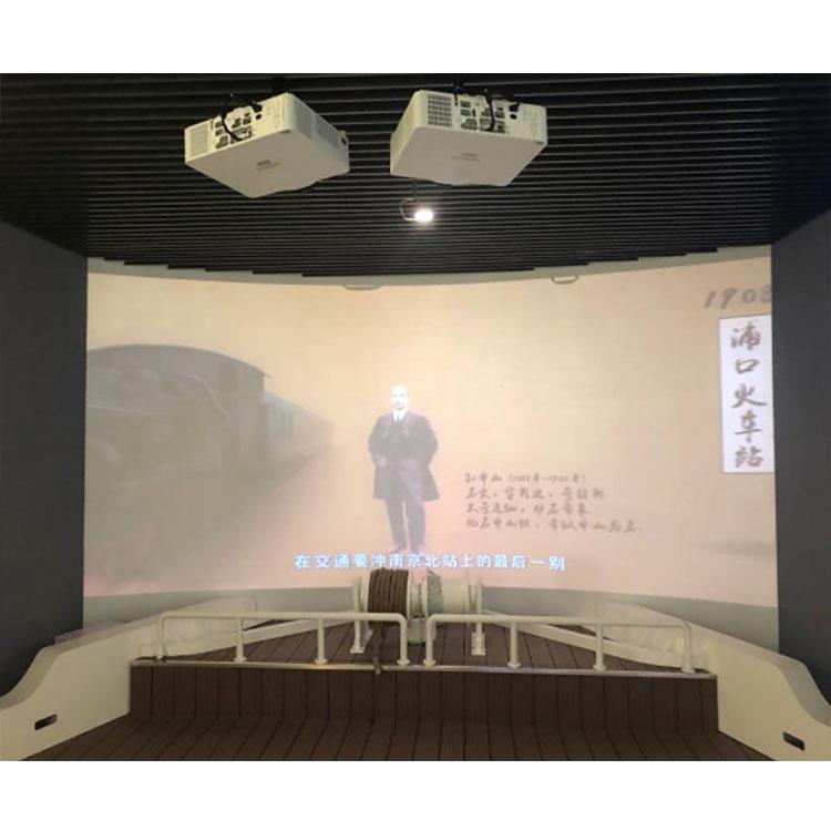 RoYan360 環幕影院 金屬幕布 畫框布  多通道融合器 各類投影機 拼接屏 軟件定制 專業方案定制