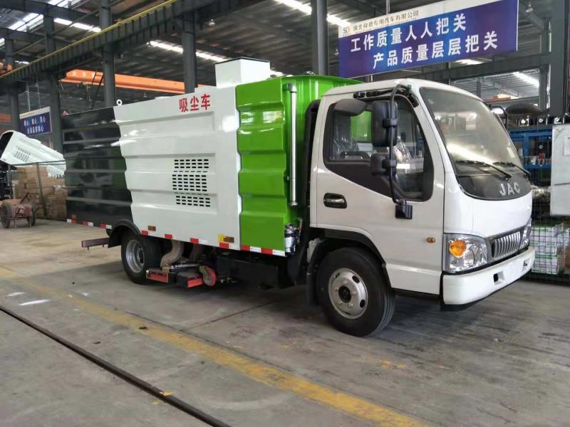 厂家供应国六东风多利卡程力威牌CLW5070TSLE6扫路车 环卫扫路车厂家直销示例图3